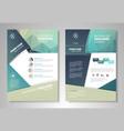 design brochures vector image vector image