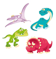 Dinosaurs Family vector image