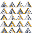 gold and grey geometric seamless pattern vector image