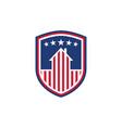 national protection usa house symbol us flag