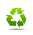 recycle logo vector image