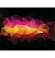 Abstract geometrical triangles background vector image vector image