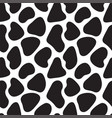 animal skin texture simple seamless pattern vector image