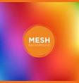 diagonal rainbow mesh background vector image vector image