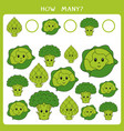 educational math game for kids vector image vector image