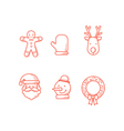 Christmas Icons Line 2 Expanded vector image
