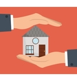 Home design Human hand icon graphic vector image vector image