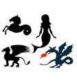 mythological creatures vector image