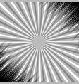 abstract monochrome explosive concept vector image vector image