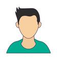 avatar faceless male profile