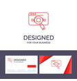 creative business card and logo template research vector image vector image