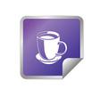 Flat food icon vector image vector image