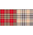 glen or houndstooth plaid pattern vector image
