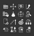 Set icons of SEO web and internet vector image vector image