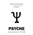 Astrology asteroid psyche