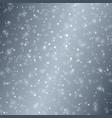 bokeh-blue-gray-snow vector image