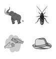 education finance and other monochrome icon in vector image vector image