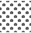 first aid kit pattern seamless vector image