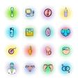 gynecology icons set vector image