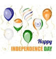 Happy Independence day of India design vector image vector image