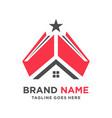 home book logo vector image vector image