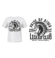 horse riding club t-shirt print template vector image vector image