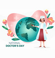 international doctor s day vector image