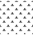 Pilgrim hat pattern simple style vector image vector image
