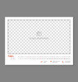 simple wall calendar october 2018 year flat vector image