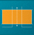 volleyball court wallpaper vector image vector image
