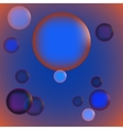 Abstract bubbles background vector image vector image