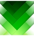 Abstract green crossing rectangle shapes vector image