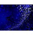 blue blizzard vector image vector image