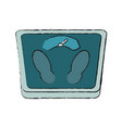 body balance weight vector image vector image