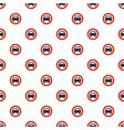 no mechanical vehicle pattern seamless vector image vector image