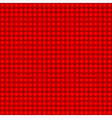 Seamless red polka dot patternn vector image vector image