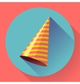 icon of Party hat Flat designed style vector image