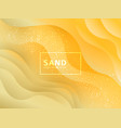 abstract sand waves paper vector image