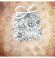 Christmas Gift Background vector image