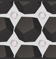 geometric texture seamless pattern vector image vector image