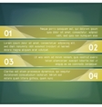 Ifographic process transparent boards Banner and vector image vector image