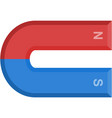 magnet icon physics symbol isolated vector image