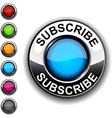 Subscribe button vector image vector image
