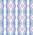 abstract seamless wavy pattern Hand drawn brush s vector image