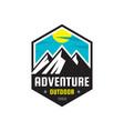 adventure outdoor - logo template