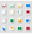 Color Book icon set as Labes vector image vector image