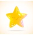 Cute cartoon little star image vector image