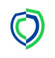 half life insurance symbol graphic design vector image vector image