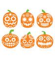 halloween pumpkin desgin - mexican sugar sk vector image vector image
