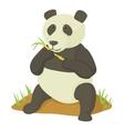 Panda icon cartoon style vector image